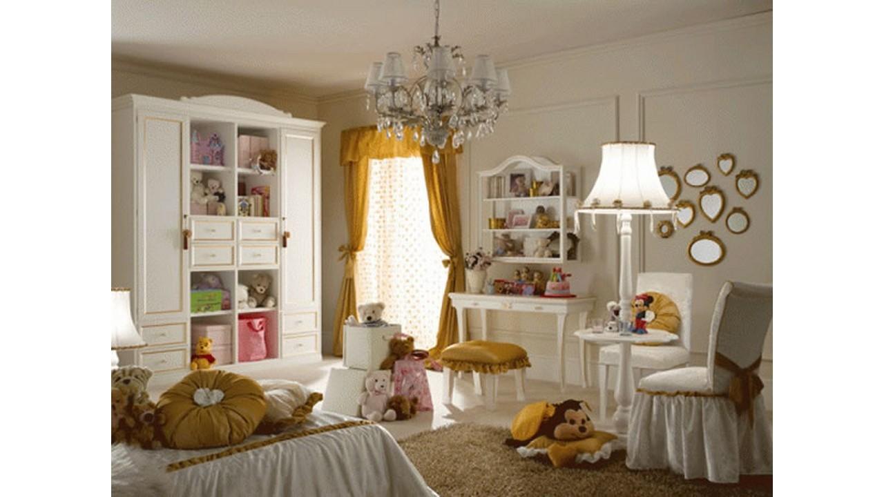 Furnitur kamar tidur anak perempuan