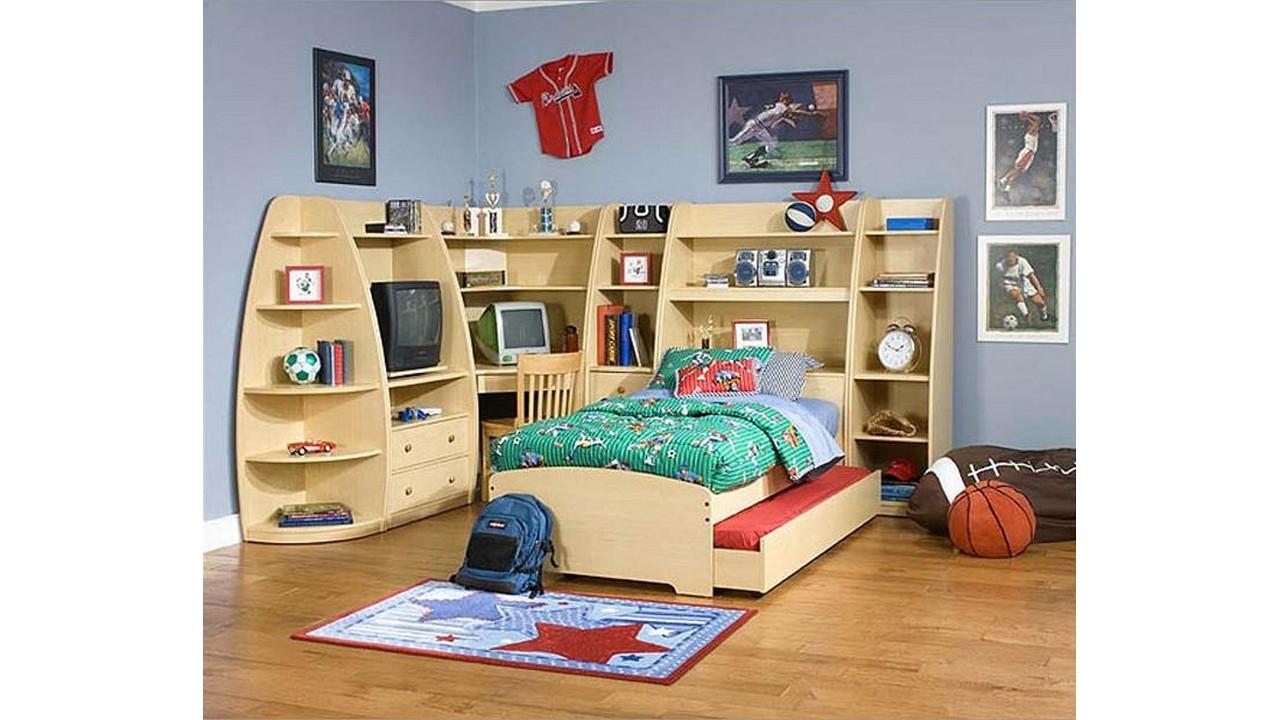 Kamar Tidur Anak Rak Furnitur