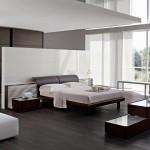 Kamar tidur modern view luar ruangan