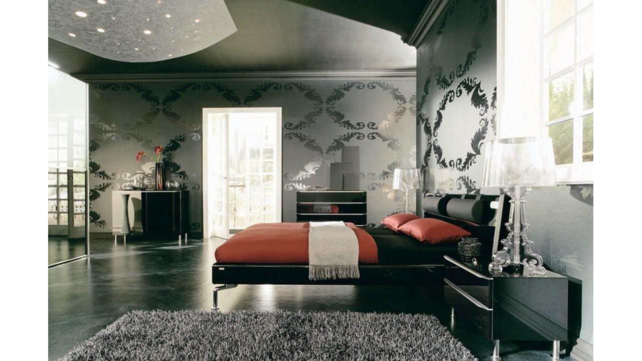 Kamar tidur unik artistik