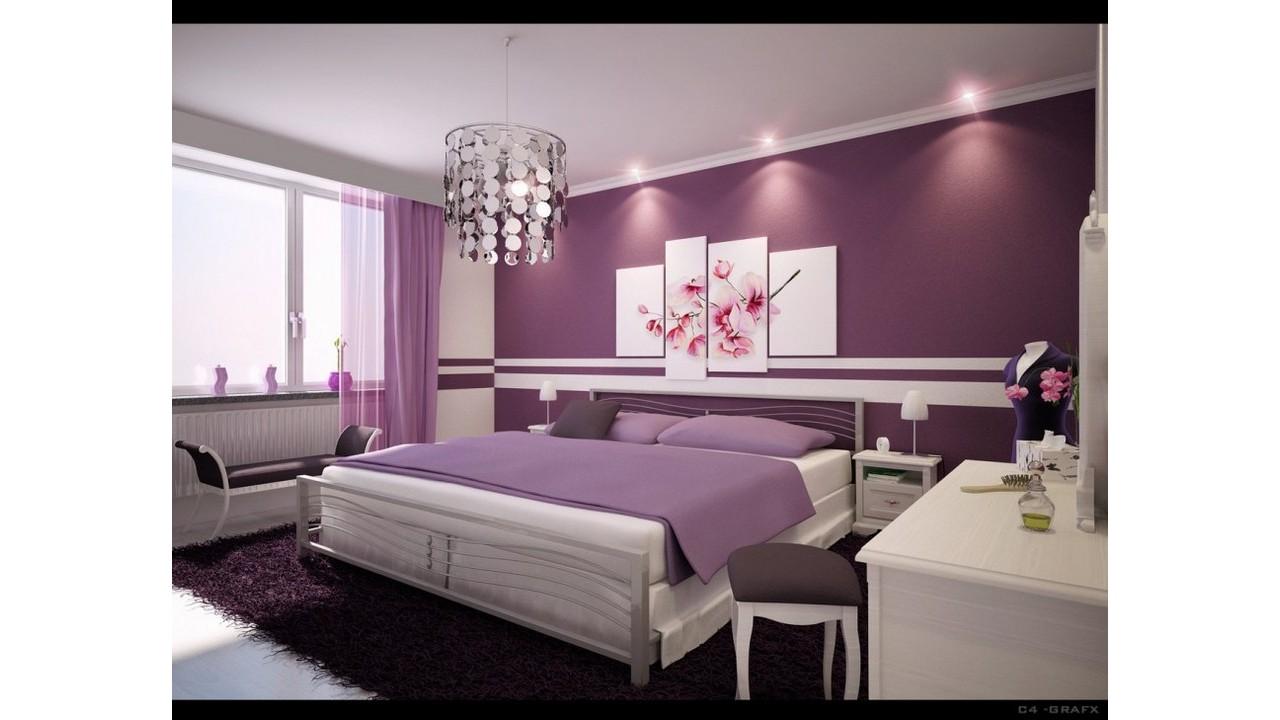 Kamar Tidur Wanita Warna