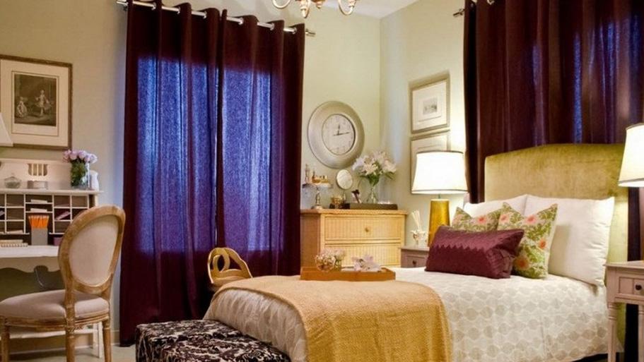 Gorden kamar tidur minimalis