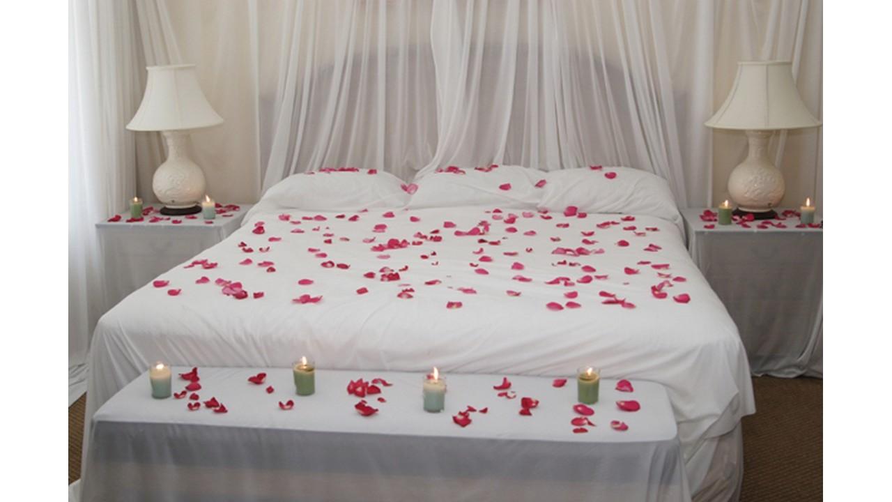 Kamar romantis bunga