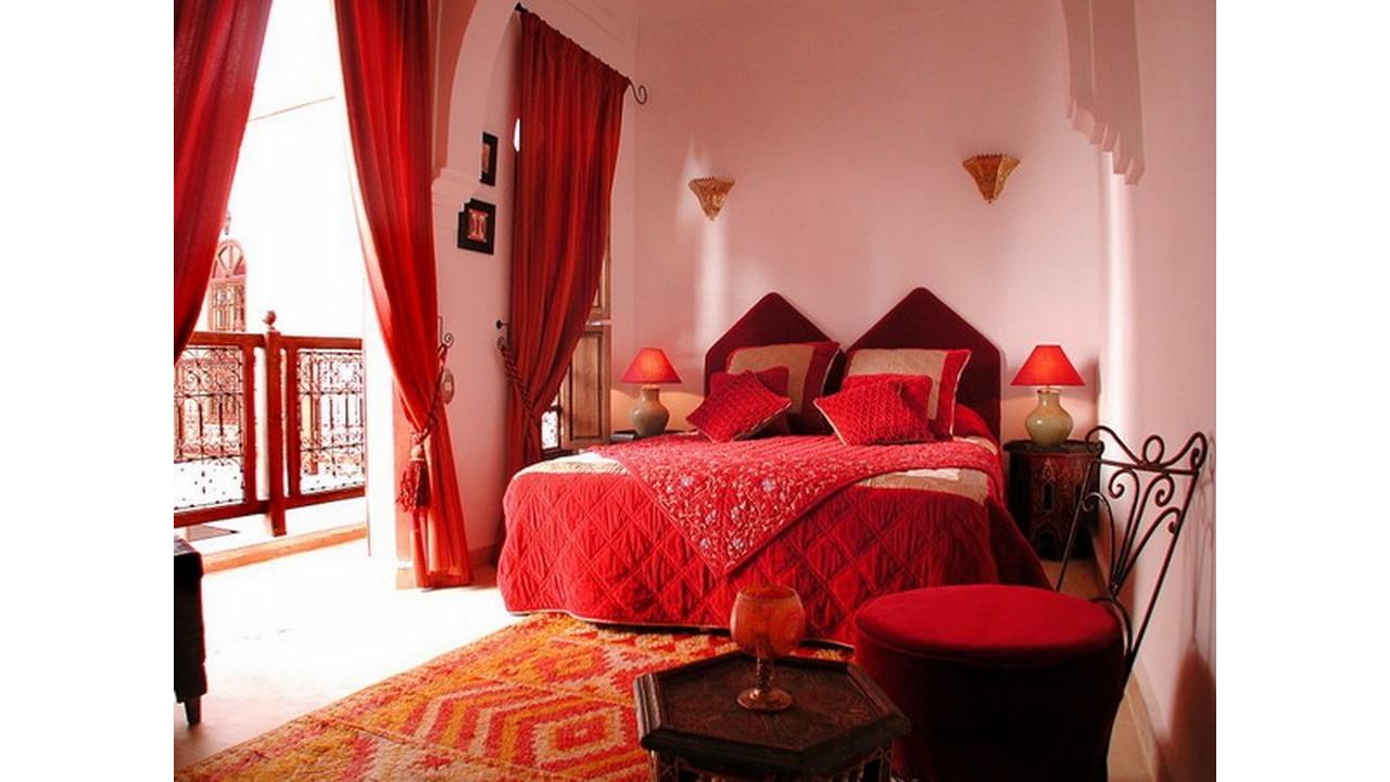 Kamar romantis gaya maroko