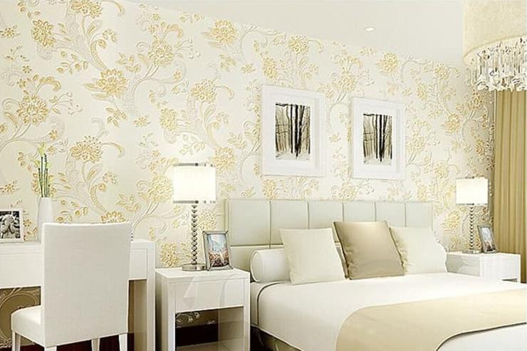 Wallpaper kamar tidur mewah