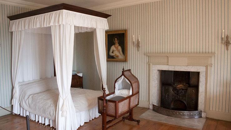 Kamar tidur klasik minimalis